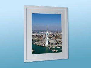 Framed Spinnaker Tower photo